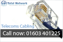 Bury, Kings Lynn, Norwich, Norfolk Telecoms Cabling, installations, data installers