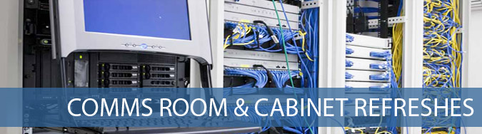 Comms Room & Cabinet Refreshes banner Total Network Technologies